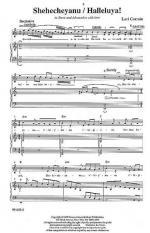 Shehecheyanu/Halleluya! Sheet Music Sheet Music