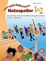 Alfred's Kid's Guitar Course Notespeller 1 & 2 (Music Reading Activities That Make Learning Even Eas Sheet Music
