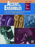 Accent On Ensembles, Book 1 Sheet Music