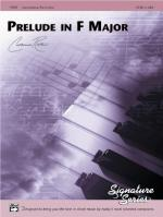 Prelude in F Major - Sheet Music Sheet Music