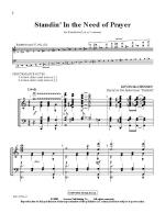Standin' In The Need Of Prayer Sheet Music