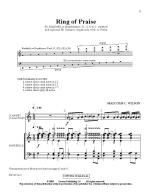 Ring Of Praise Sheet Music
