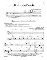 Thanksgiving Fantasia Sheet Music