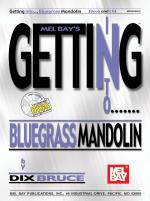 Getting Into Bluegrass Mandolin Book/CD Set Sheet Music