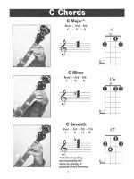 Banjo G Tuning Photo Chord Book Sheet Music