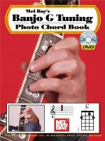 Banjo G Tuning Photo Chord Book/DVD Set Sheet Music
