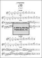 Chords / Scales / Arpeggios / Etudes Workout Sheet Music