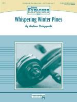 Whispering Winter Pines - Conductor Score & Parts Sheet Music