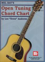 Open Tuning Chord Chart Sheet Music