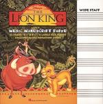 The Lion King Manuscript Paper Sheet Music