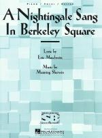 A Nightingale Sang In Berkely Square Sheet Music Sheet Music