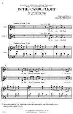 In the Candlelight Sheet Music - Choral Octavo Sheet Music