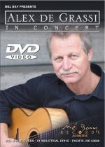 Alex de Grassi in Concert DVD Sheet Music