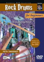 Rock Drums For Beginners, Vols. 1 & 2 (An Easy Beginning Method) - DVD Sheet Music
