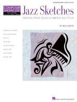 Jazz Sketches Int. Piano Solos In Various Jazz Styles Hlspl Composer Showcase Sheet Music