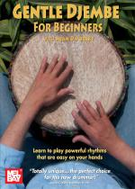 Gentle Djembe for Beginners DVD Sheet Music