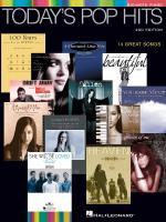 Today's Pop Hits Sheet Music