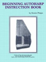 Beginning Autoharp Instruction Book Sheet Music
