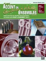Accent on Christmas and Holiday Ensembles - Book Sheet Music