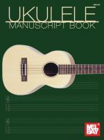 Uke Manuscript Book Sheet Music