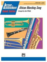 African Marching Song - Conductor Score & Parts Sheet Music