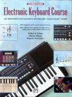 Alfred's Basic Electronic Keyboard Course - Book Sheet Music