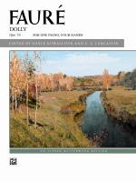 Dolly Suite, Opus 56 (For One Piano, Four Hands) - Book Sheet Music