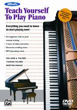 Alfred's Teach Yourself to Play Piano (Everything You Need to Know to Start Playing Now!) - DVD Sheet Music