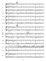 12 The Clock Strikes Extra full score Sheet Music