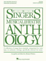 The Singer's Musical Theatre Anthology - Teen's Edition Tenor Book Only Sheet Music