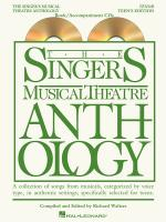 The Singer's Musical Theatre Anthology - Teen's Edition Tenor Book/2-CDs Pack Sheet Music