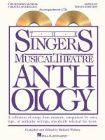 The Singer's Musical Theatre Anthology - Teen's Edition Soprano Accompaniment CDs Only Sheet Music