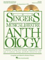 The Singer's Musical Theatre Anthology - Teen's Edition Tenor Accompaniment CDs Only Sheet Music