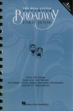 The Real Little Ultimate Broadway Fake Book - 5th Edition Sheet Music