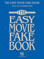 The Easy Movie Fake Book 100 Songs In The Key Of C Sheet Music