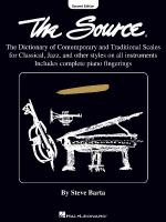 The Source - 2nd Edition Sheet Music
