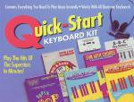 Quick-Start Keyboard Kit Includes Cassette Sheet Music