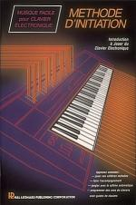 Instruction Book A - French Keyboard/Methode D'initiation Sheet Music