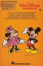 Walt Disney Favorites Easy Electronic Keyboard Music Volume 43 Sheet Music