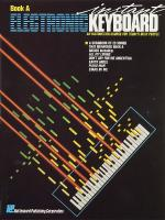 Instant Electronic Keyboard Book A Sheet Music
