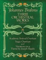 Three Orchestral Works Sheet Music