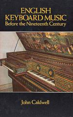 English Keyboard Music Before the Nineteenth Century - Book Sheet Music