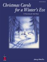 Christmas Carols For A Winter's Eve Sheet Music