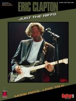 Eric Clapton - Just The Riffs Sheet Music