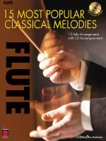 15 Most Popular Classical Melodies Flute Sheet Music