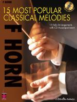 15 Most Popular Classical Melodies French Horn Sheet Music