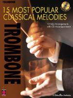 15 Most Popular Classical Melodies Trombone Sheet Music
