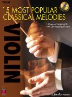 15 Most Popular Classical Melodies Violin Sheet Music
