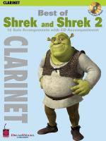 Best Of Shrek And Shrek 2 Clarinet Sheet Music