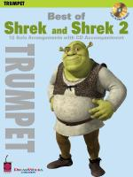 Best Of Shrek And Shrek 2 12 Solo Arrangements With CD Accompaniment Trumpet Sheet Music